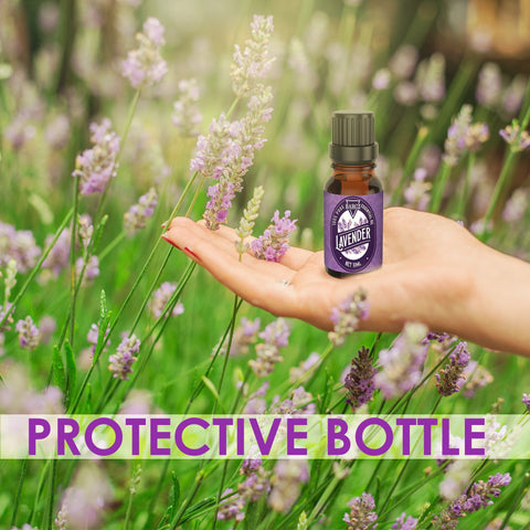 Image of Lavender Essential Oil - Relaxing Scent