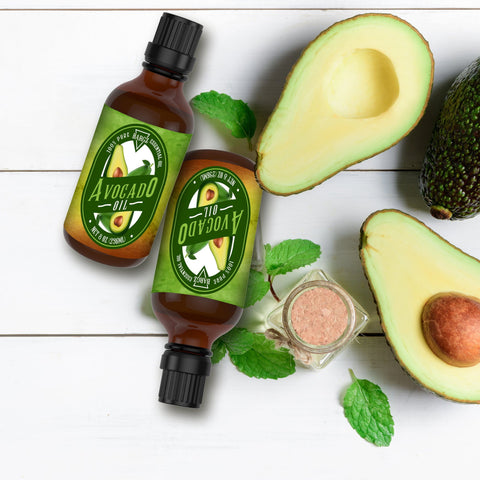 Image of Avocado Oil, Glass Amber Bottle, Therapeutic, Classic Oil