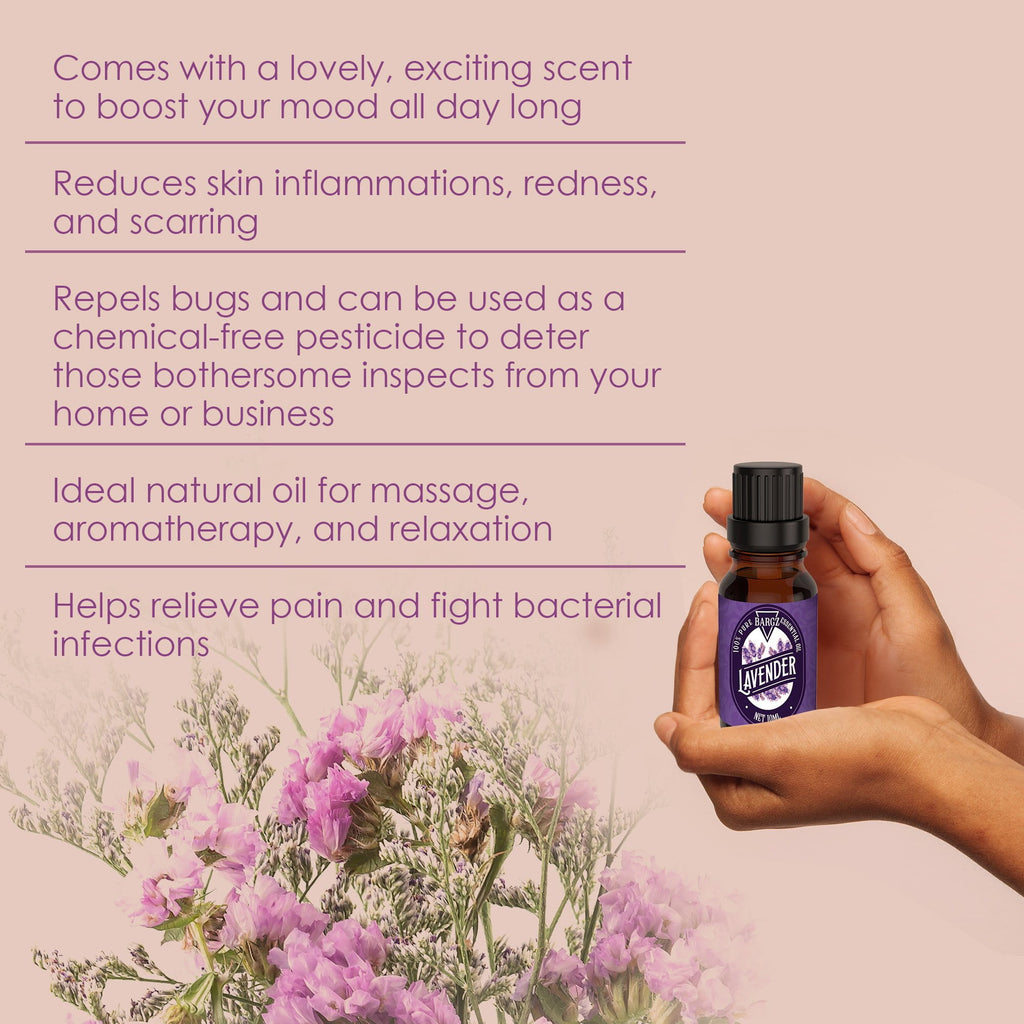 Lavender Essential Oil - Relaxing Scent
