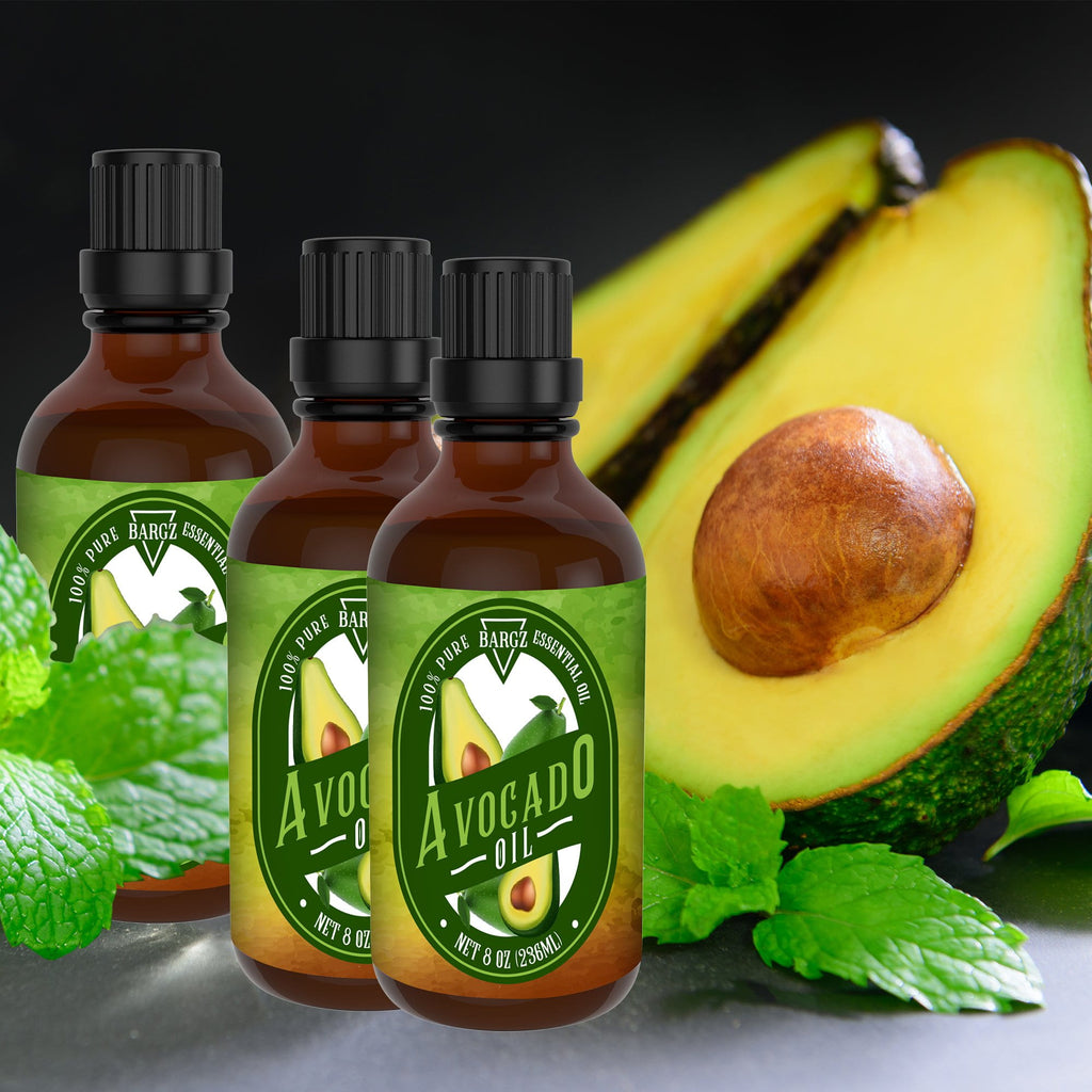 Avocado Oil, Glass Amber Bottle, Therapeutic, Classic Oil