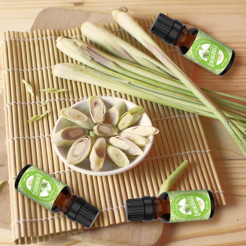 Image of Lemongrass Essential Oil, Aromatherapy, Medicinal, Natural Deodorizer