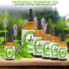 Bargz Patchouli Essential Oil, 100% Pure Therapeutic Grade for Aromatherapy Diffuser, Stress Relief, Relaxation & Sleep, Headache