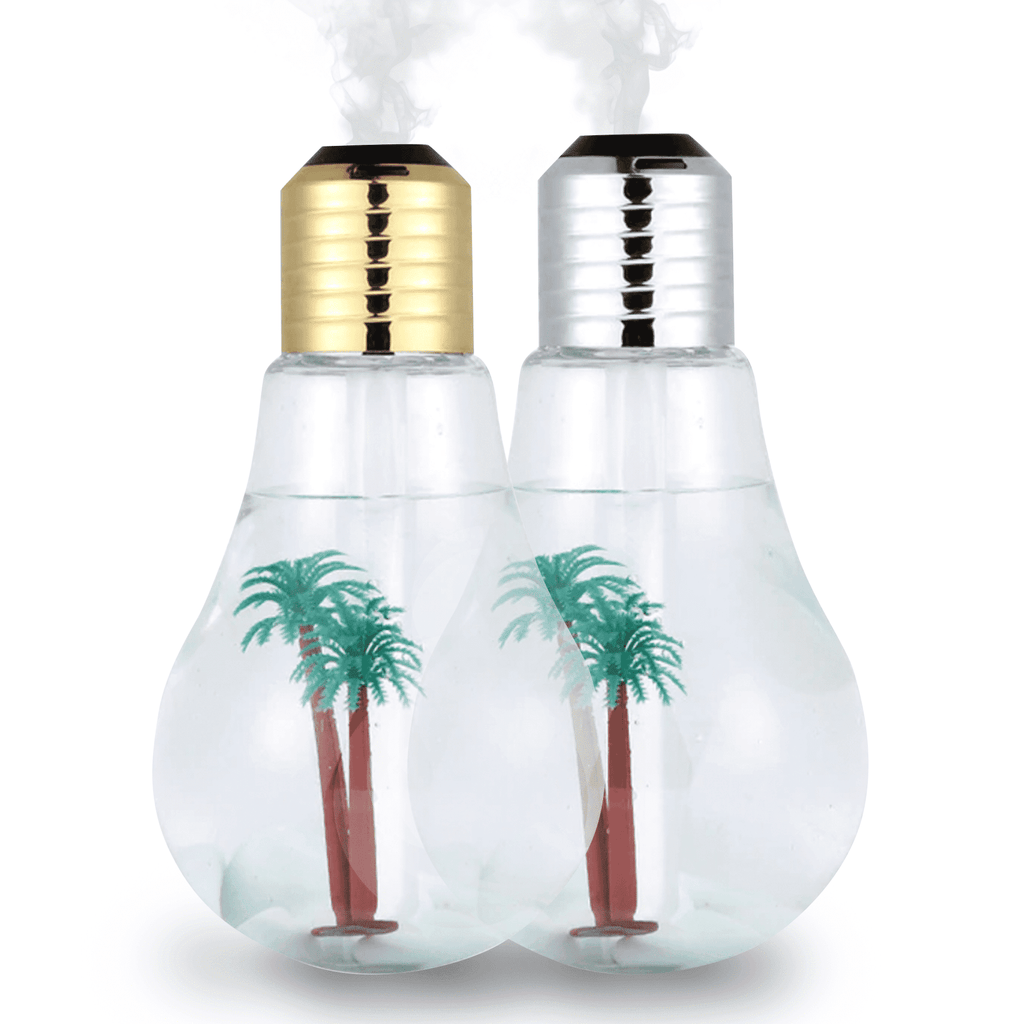 400ml LED Lamp Air Ultrasonic Humidifier for Home Essential Oil Diffuser Atomizer Air Freshener Mist Maker with LED Night Light Oil Diffuser BargzOils