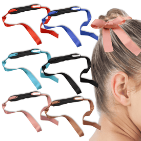 Fashion Women Hair Accessories New Hair Curls Bun Head Band Hair Maker Magic Hair Making Tool Ribbon Bowknot Bun Maker New