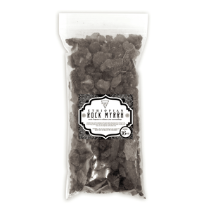 Ethopean Rock Myrrh Resin High Quality Organic Aromatic Resin Tears Rock Incense BargzOils 2 OZ