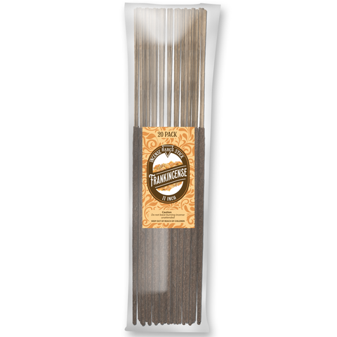 Image of Frankincense Natural Incense Stick [11 in] Lasting Relaxing Fragrance - 20 Pack
