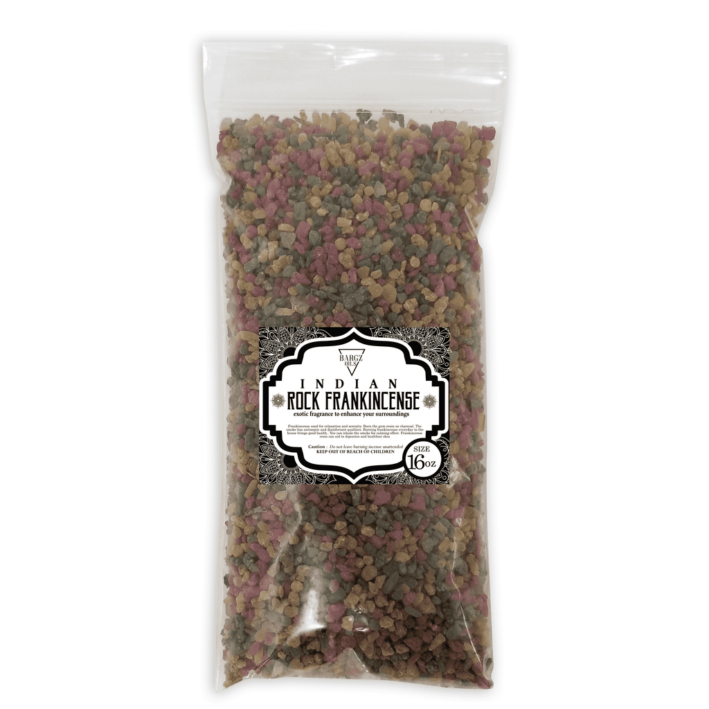 Indian Frankincense Resin High Quality Organic Aromatic Resin Tears Rock Incense BargzOils 16 OZ