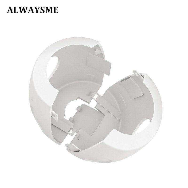 ALWAYSME For Baby Kids Door Knob Safety Cover Door Knob Proof Covers Safety Door Handle Cover Lockable Design Soft PP Material BargzOils
