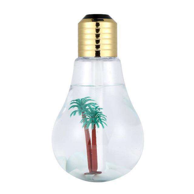 400ml LED Lamp Air Ultrasonic Humidifier for Home Essential Oil Diffuser Atomizer Air Freshener Mist Maker with LED Night Light Oil Diffuser BargzOils Gold
