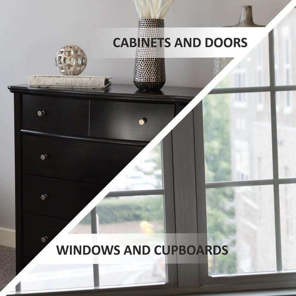 Baby Cabinet Locks | Child Cabinet And Drawers Locks No Drill | Simple Latch Childproofing System - Childproof Cabinets Drawer BargzOils