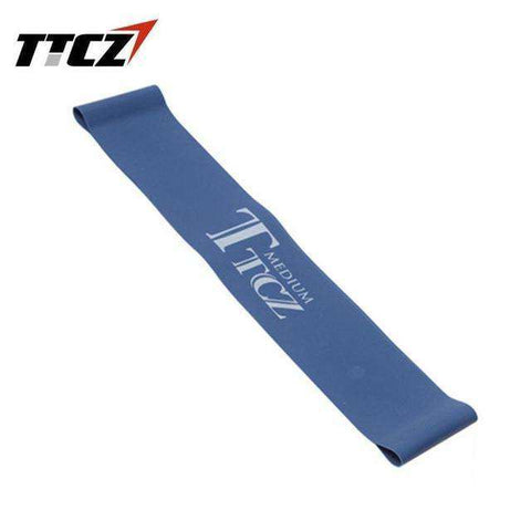 Image of Unisex Elastic Tension Yoga Resistance Band Exercise Workout Rubber Loop Band Muscle Fitness Training Expander Slimming tool BargzOils Blue