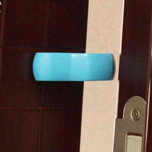 Baby Safety Door Stopper Baby Newborn Care Child Lock Protection U-shaped Plastic Door Stop ABS Material Safety Baby Door Clip BargzOils