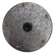 "#501WST  8"" Weld In Cut Short Round-Flush Pedestal Base"