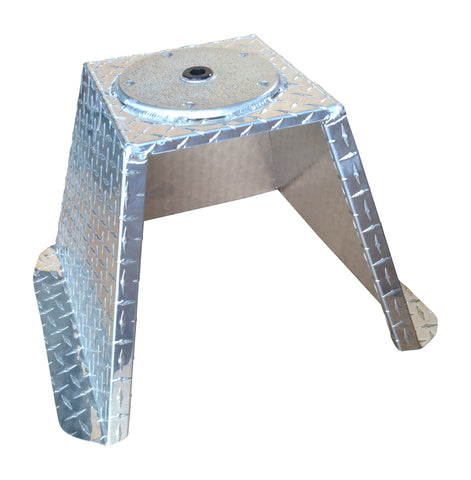 PSB - Diamond Plate Pedestal Seat Base