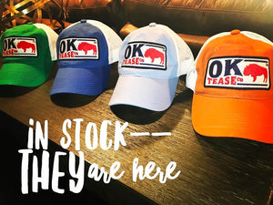 Ok Tease Co Trucker Hat