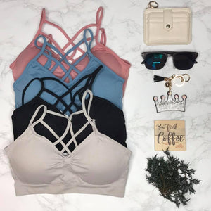 Cover Me Up Caged Bralette - Junction K Boutique