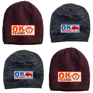 Ok Tease Co Logo Beanie - Charcoal