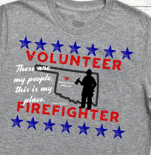 Volunteer Firefighter Tshirt