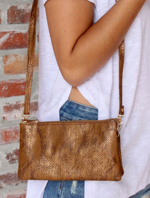 Kate Crossbody Purse - Snake - Junction K Boutique