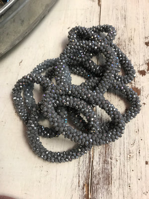 The Marilyn Bracelet - Grays
