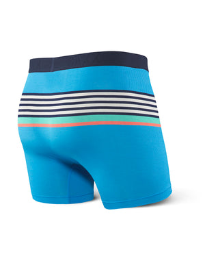 SAXX Ultra Boxer - Blue Regatta Stripe
