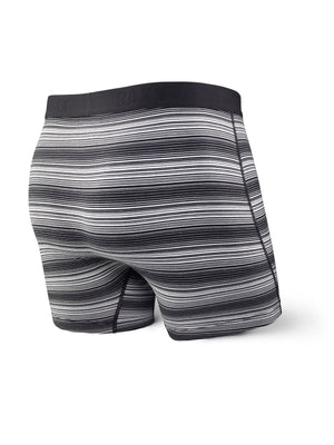 SAXX Ultra Boxer - Black with White