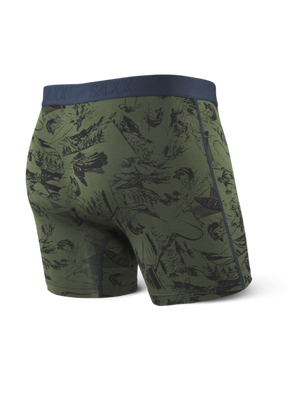 SAXX Vibe Boxer Brief - Green Fisherman