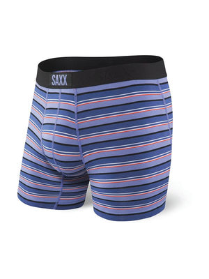 SAXX Vibe Boxer Brief - Purple Coast Stripe