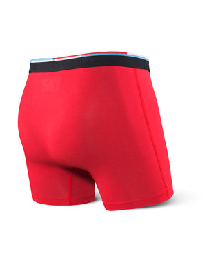 SAXX Vibe Boxer Brief - Red