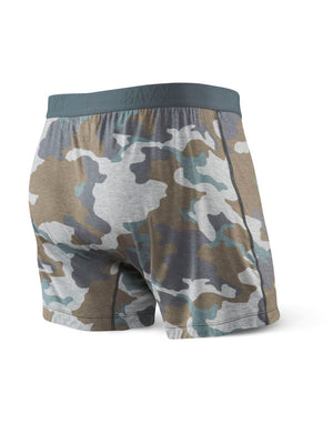 SAXX Ultra Free Agent Loose Fit Boxer - Gray Supersized Camo