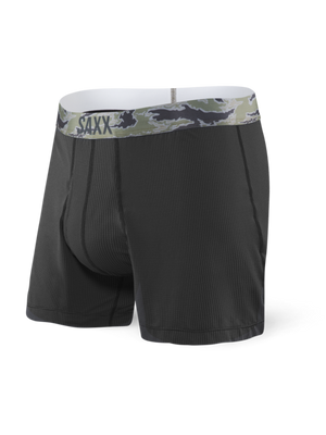 SAXX Loose Cannon Loose Fit Boxer - Black