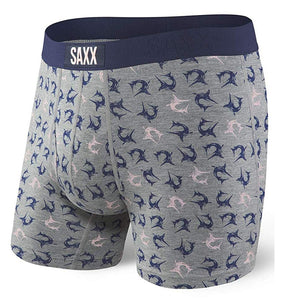 SAXX Ultra Boxer - Gray Marlins
