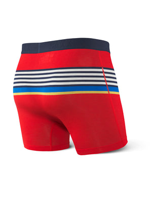 SAXX Ultra Boxer - Red Racing Stripe