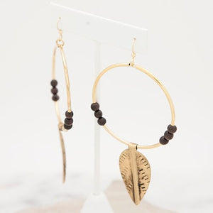 Stone + Stick New Leaf Earrings