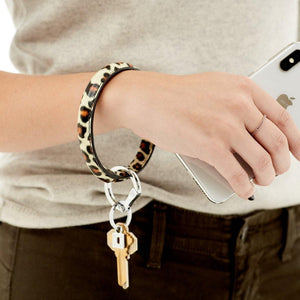 Big O Key Ring Luxe Leather