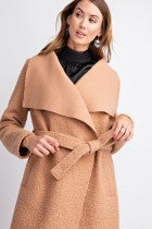 Wrap Me Up Sherpa Faux Teddy Coat
