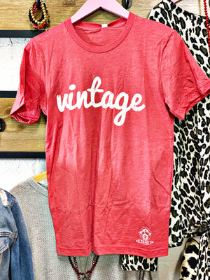 Red Vintage T-Shirt
