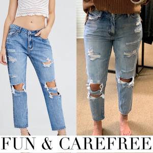 The Fun and Carefree Boyfriend Jean