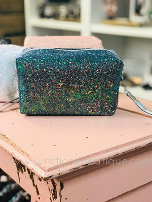 Cheeky's Glitter Cosmetic Bag