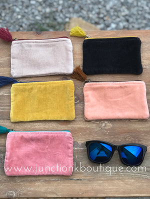 Velvet Zip Bag Mini