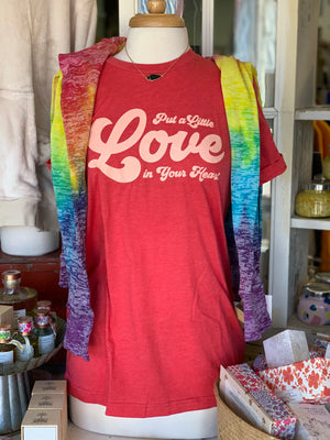 Love In Your Heart Tshirt