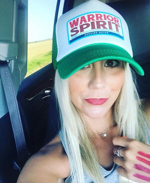 Ok Tease Co Warrior Spirit Trucker Hat