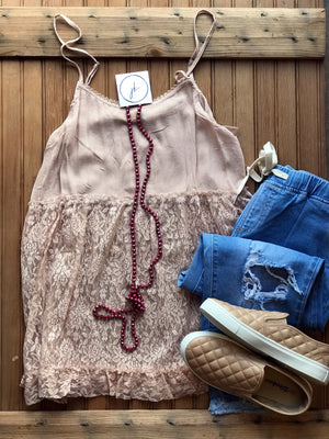 Lace Extender Cami