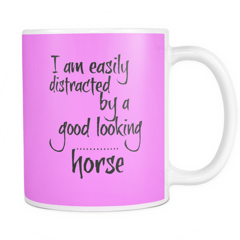 Easily distracted - 11 oz Coffee Mug - Various Colors