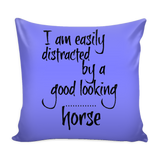Easily distracted - Pillow Cover - Various Colors