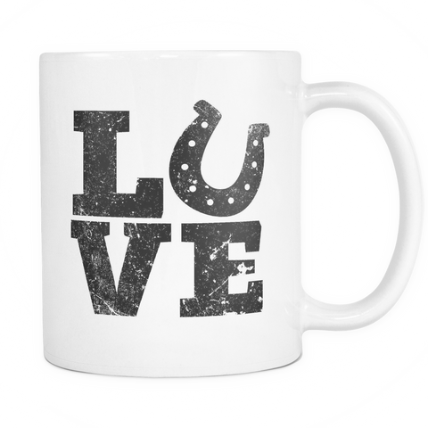 Love - Coffee Mug 11 oz - Various Colors
