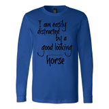 Easily distracted - long sleeve shirt - Various Colors