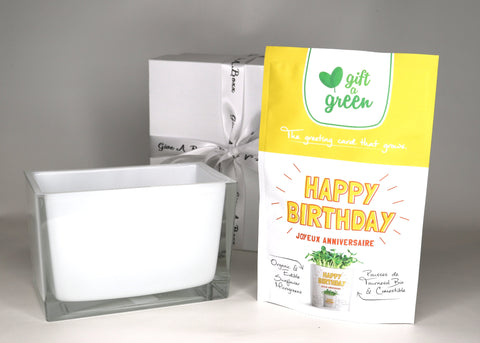 Grow Green- Happy Birthday!