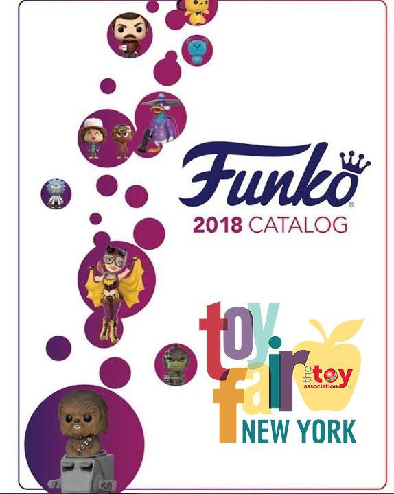 Funko Toy Fair New York 2018 Preorders Posted!