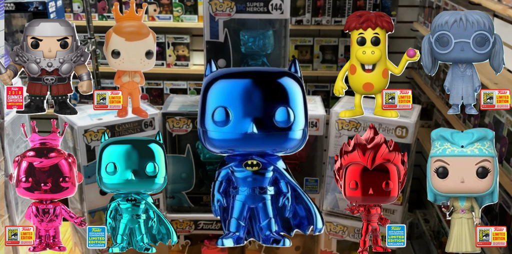 SDCC 2018 & 2019 Mystery BOX